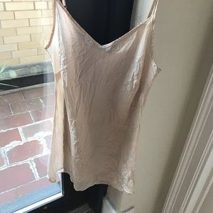 J. Crew Tops - Pale pink silk Jcrew camisole